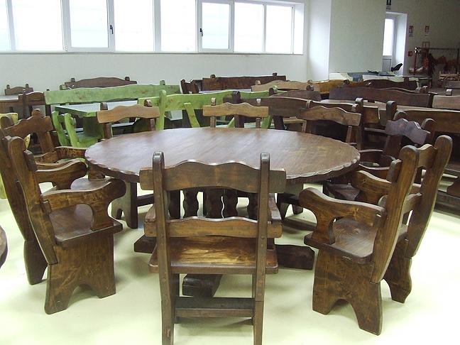 home   martino pieroni   mobili rustici, mobili antichi, mobili in ... - Tavolo Rotondo Arte Povera